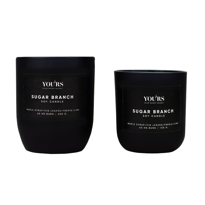 Soy candle Sugar Branch 200 g