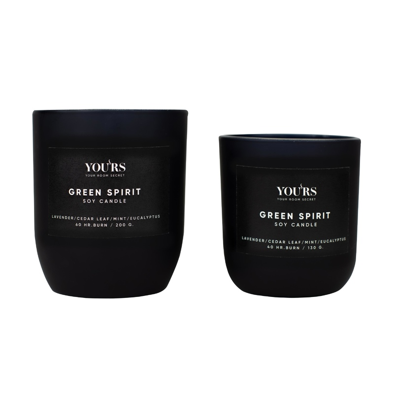 Soy candle Green Spirit 200 g