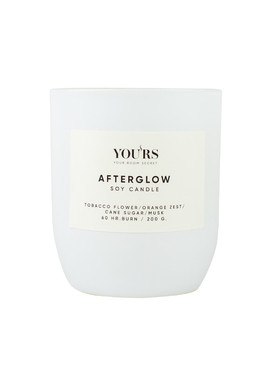 Soy candle Afterglow 200 g