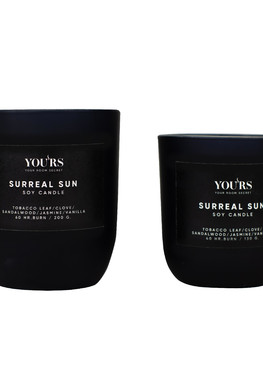 Soy candle Surreal Sun 200 g
