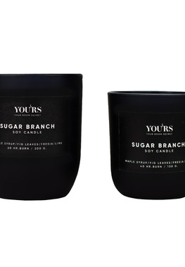 Soy candle Sugar Branch 130 g