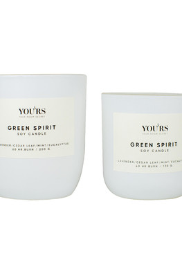 Soy candle Green Spirit 130 g