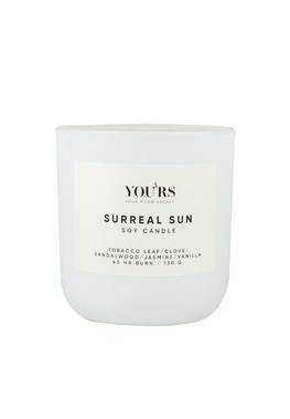 Soy candle Surreal Sun 130 g