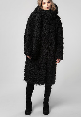 "Fur Coat ""FOREST v.1"""